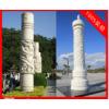 寺庙青石龙柱,福建惠安石雕龙柱