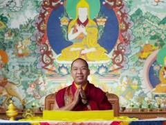 十一世班禅额尔德尼·确吉杰布发表藏历铁牛新年祝福